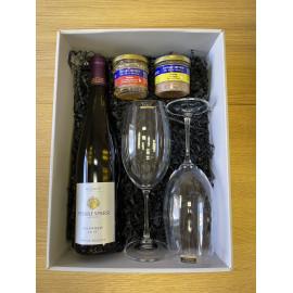 Dárkový balíček s francouzským bílým vínem