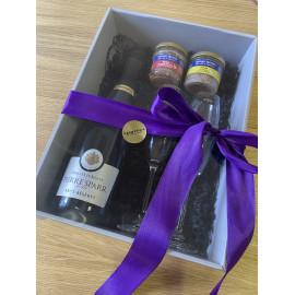 Dárkový balíček s francouzským šumivým vínem