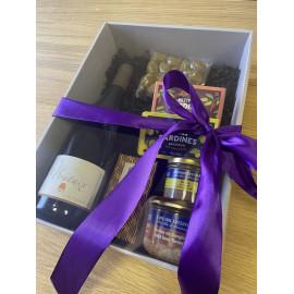 Dárkový balíček s francouzský vínem Les Pontaix