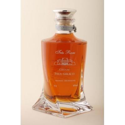Cognac Tres Rare Carafe Quadro Crystallin Paul Giraud
