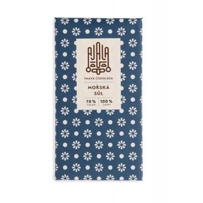 Bio čokoláda Ajala Mořská sůl 45g